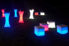 LED Furniture for rent